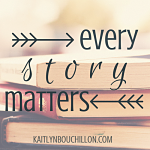 Every story matters because He's the one writing and we can trust the One who holds the pen. He won't make mistakes; there's no need for a pencil.