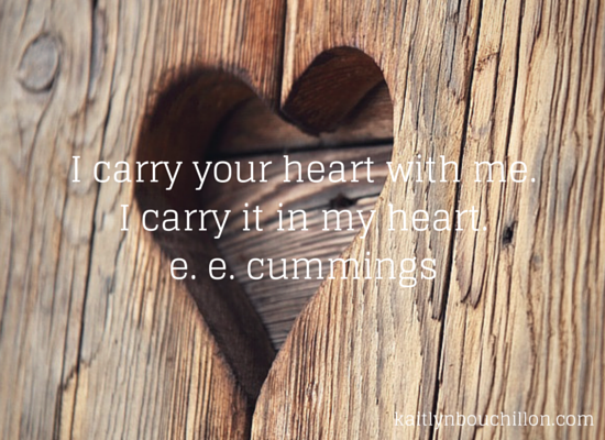 I'll Carry You {31 Days :: Day 31}