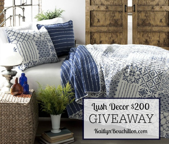 $200 Giveaway to Lush Decor