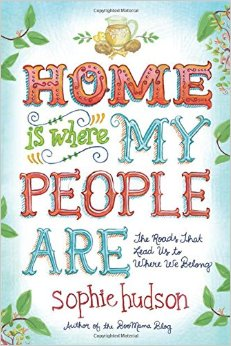 home is where my people are // book cover