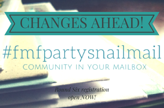 Saying Yes to Change – #fmfpartysnailmail