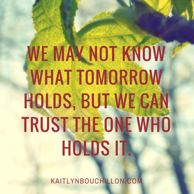tomorrow holds