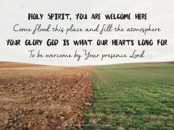 Holy Spirit lyrics