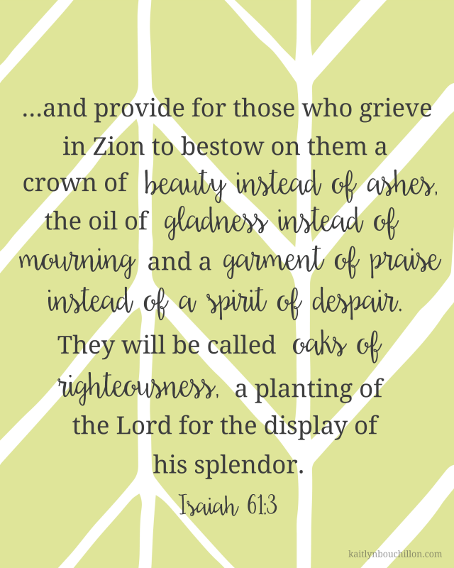Isaiah 61:3 free printable