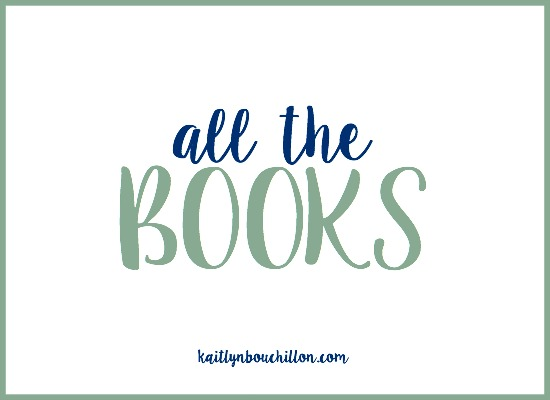 All the Books {10 book giveaway!}