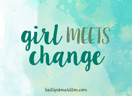 Girl meets change