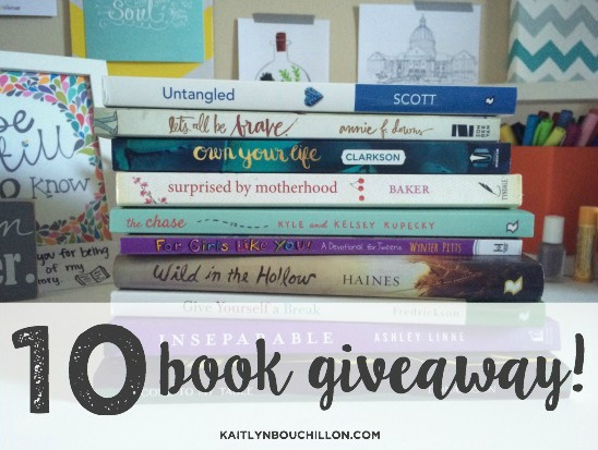 10 Book Giveaway