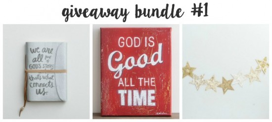 I hope I win this giveaway bundle!