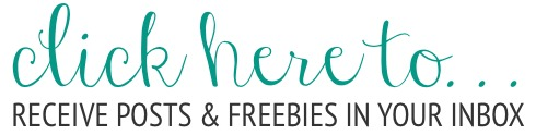 subscribe and receive 9 freebies ... because don't we all like beautiful, free printables? that's what I thought.