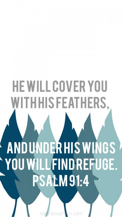 free iPhone lock screen // Psalm 91:4