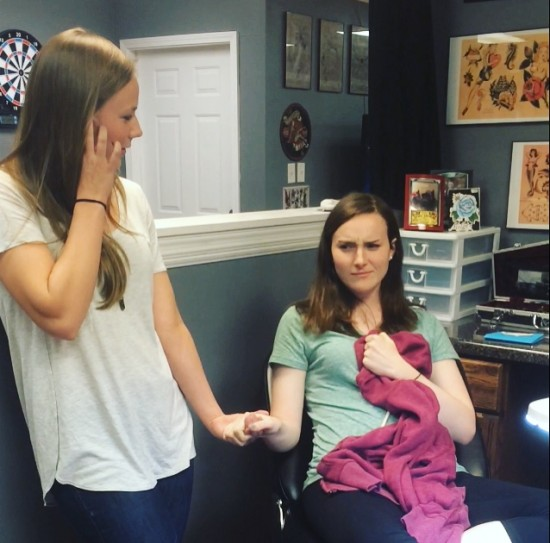 tattoo parlor picture