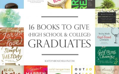 16 Books to Give (High School or College) Graduates
