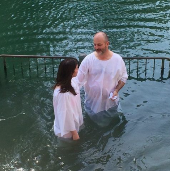 Baptism at the Jordan River