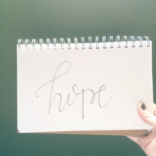 hope #handlettering