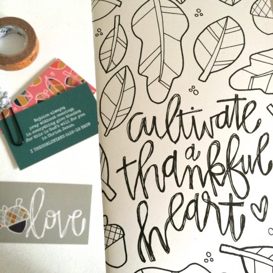 november Illustrated Faith kit