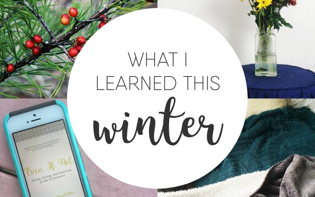 What I Learned This Winter