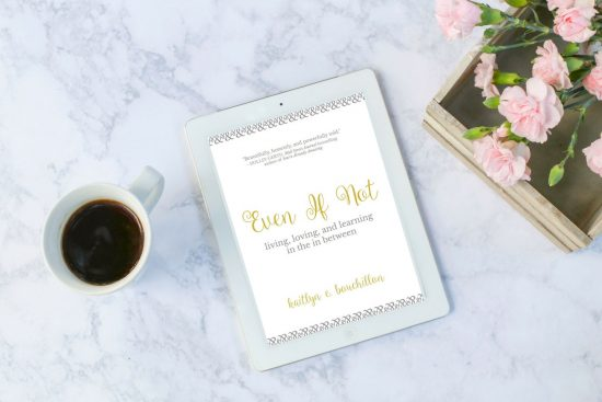 Even If Not (such a good book!) is now available as an ebook!!!