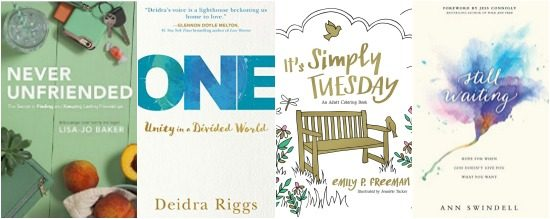 four amazing (and inspiring) books coming out on April 4th