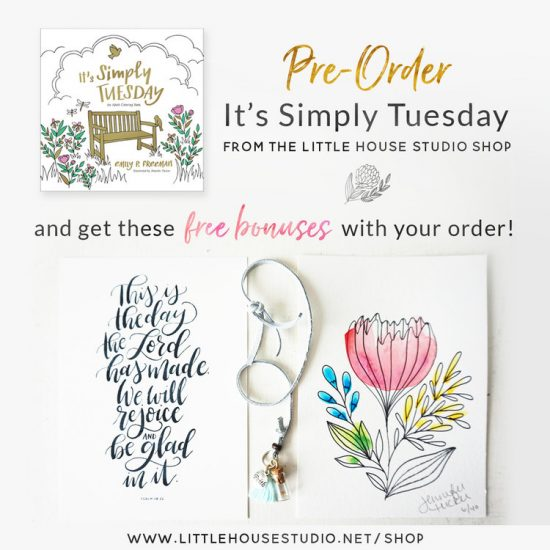 Preorder gifts for It's Simply Tuesday