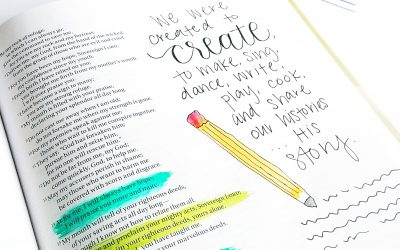 You Were Created to Create {giveaway!}