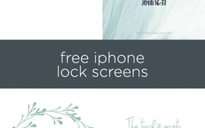 4 Free (Easter) iPhone Lock Screens