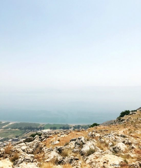 Mount Arbel in Israel