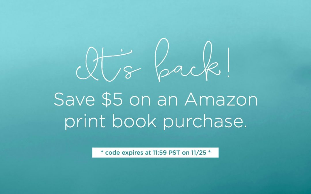 My Favorite Black Friday Deals (Like $5 off Books at Amazon)