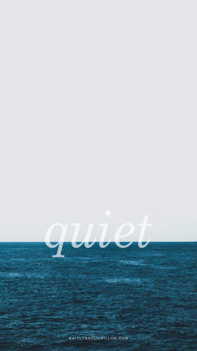 free iPhone lock screen: quiet
