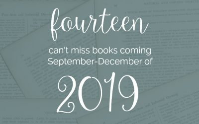 14 Can't-Miss Books Coming in 2019: September-December