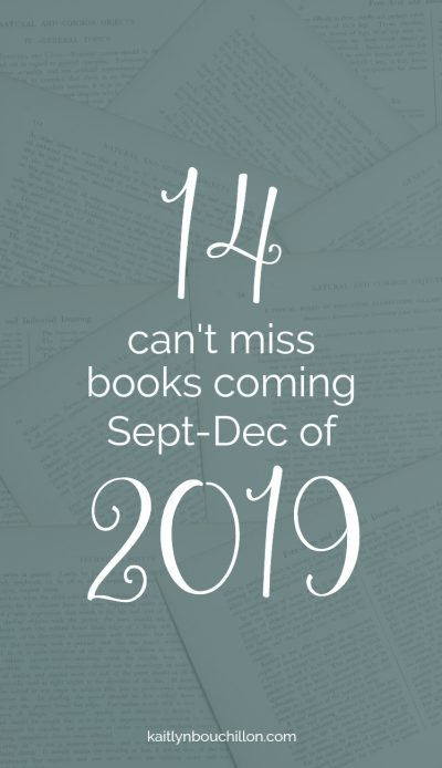 This list is SO good. 14 can't miss books coming in 2019..