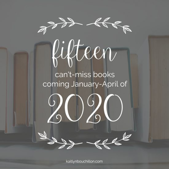 This list is SO good. 15 can't miss books coming in 2020!