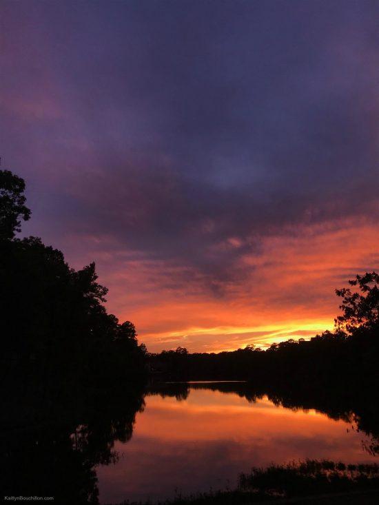 amazing Birmingham sunset