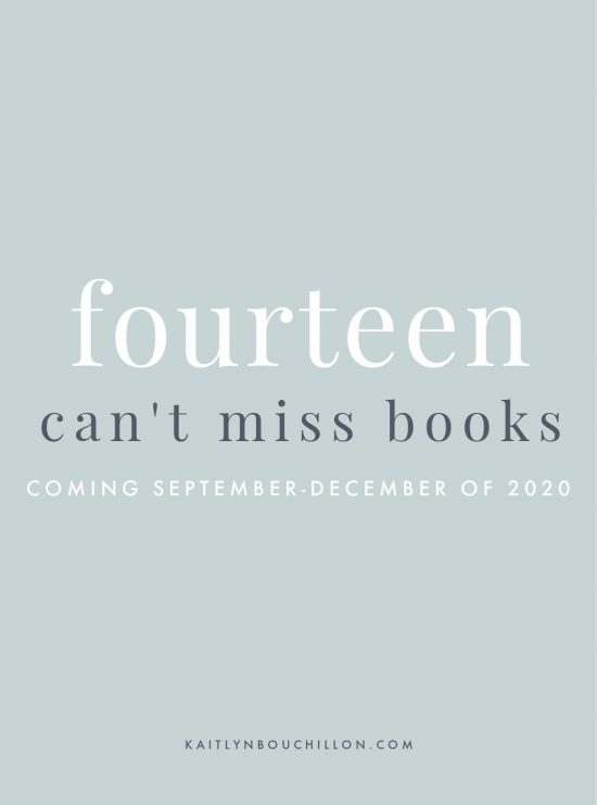 14 Can't-Miss Books Coming in 2020: September-December