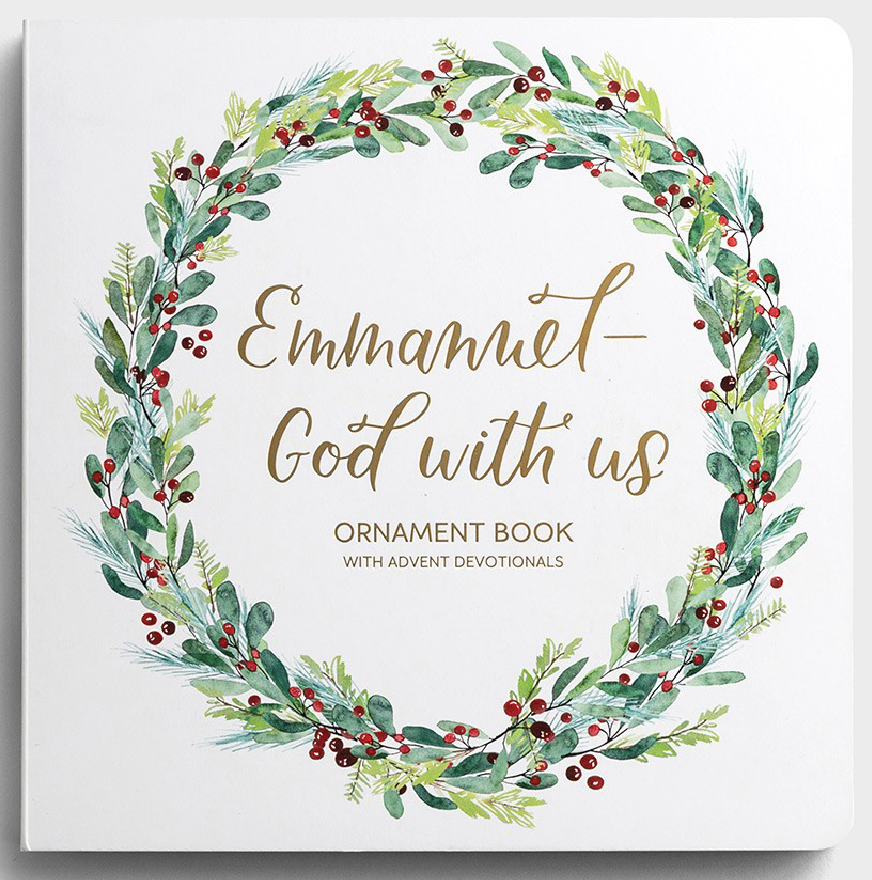Emmanuel, God with Us - Advent Ornament Book