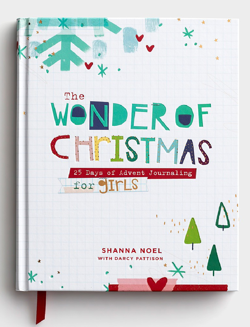 The Wonder of Christmas - Advent Journal for Girls