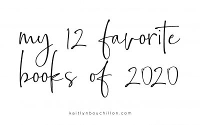My Favorite Books of 2020